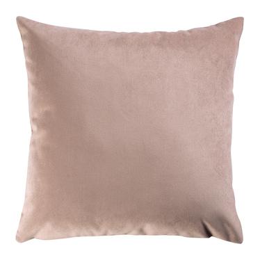 Poduszka dekoracyjna Myrrhis w tkaninie PET FRIENDLY 45x45 cm różowa pastelowa