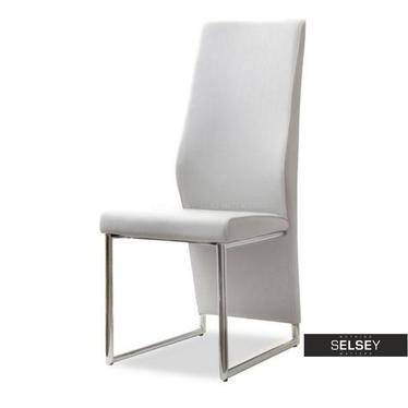 Krzesło Siena jasno-szare designerskie do kuchni