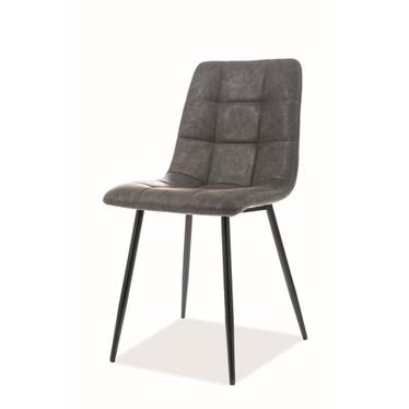 Krzesło Virve szara ekoskóra