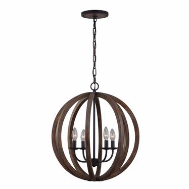 Lampa wisząca Allier 52 cm