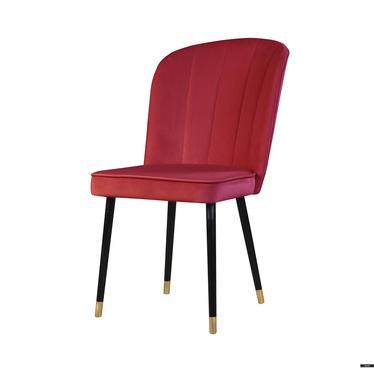 Krzesło Guavra malinowe