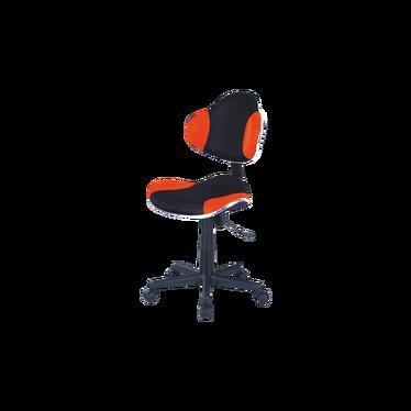 Fotel biurowy Morild czarno-pomarańczowy