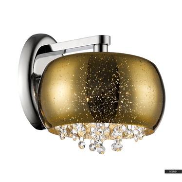 Kinkiet Tiffany średnica 22 cm złoty