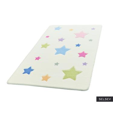 Dywan Kolorowe gwiazdeczki 100x150 cm