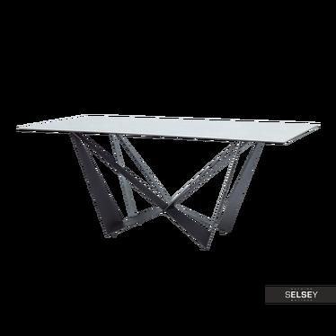 Stół Laugar 180x90 cm z efektem marmuru