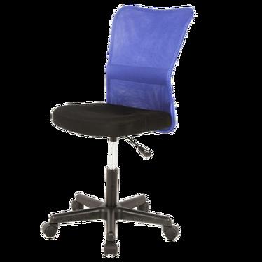 Fotel biurowy Leynar niebiesko - czarny