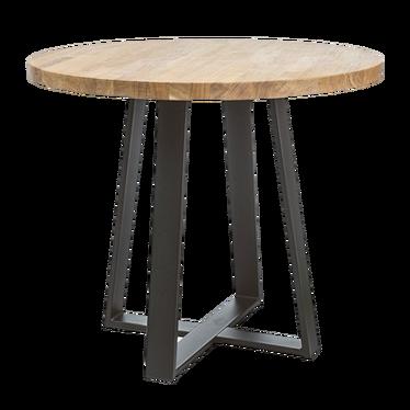 Stół Dalvik średnica 80 cm z litego drewna
