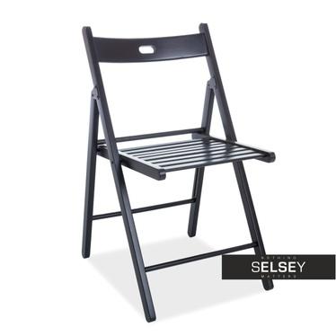Krzesło Gemini czarne