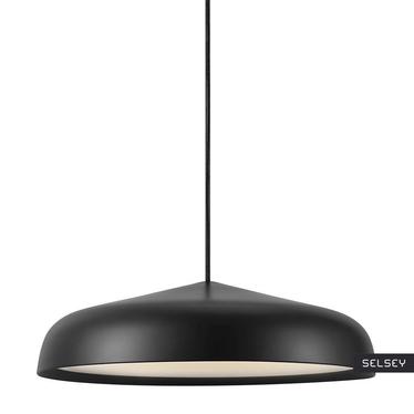 Lampa wisząca Fura średnica 40 cm czarna