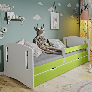 Łóżeczko dziecięce Mirret zielone