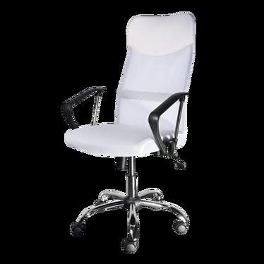Fotel biurowy Rens biały