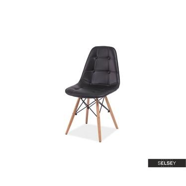 Krzesło Rovej czarne