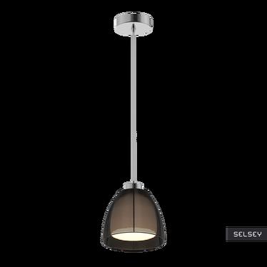 Lampa wisząca Allen średnica 19 cm czarna