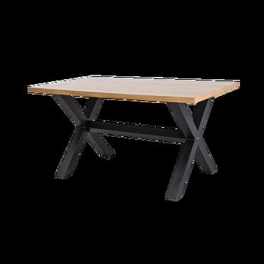 Stół Holeby 180x90 cm z poziomym wzmocnieniem podstawy