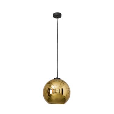 Lampa wisząca Polaris złota średnica 25 cm 9057