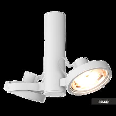 Lampa sufitowa Mauri biała