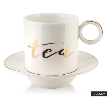 Filiżanka ze spodkiem Tea