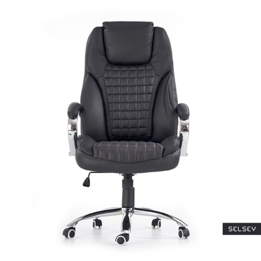 Fotel biurowy Lipari czarny