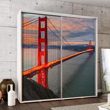 Szafa Wenecja 205 cm Golden Gate