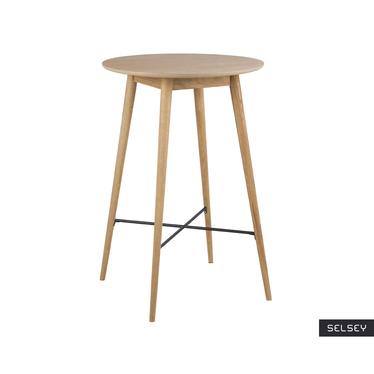Stół barowy Bebrina o średnicy 70 cm