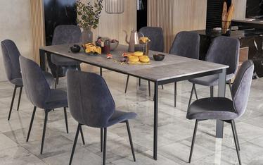 Stół rozkładany Kayko 180-260x90 beton