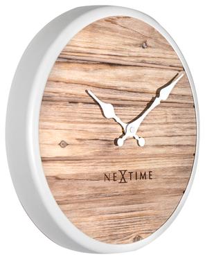Zegar drewniany Plank średnica 30 cm