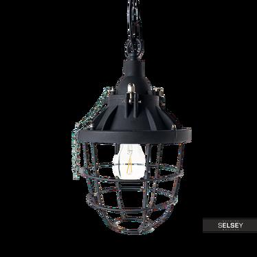 Lampa wisząca Lantern czarna