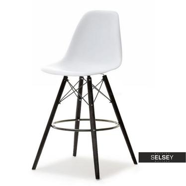 Hoker EPS wood 1 biało czarny z tworzywa