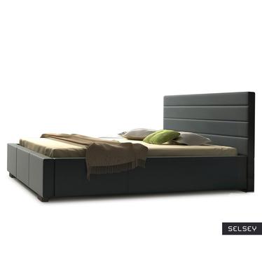 Łóżko Platte (wybór rozmiaru i koloru, opcjonalnie materac i pojemnik)
