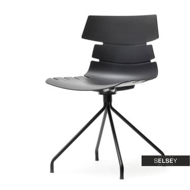 Krzesło Zac rod czarne designerskie