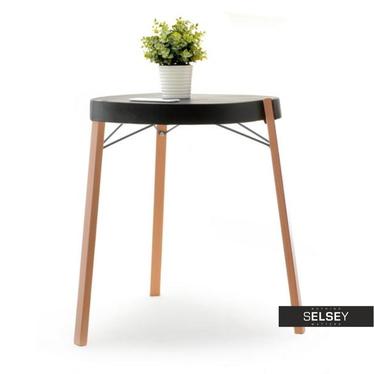 Stół Twist czarny z tworzywa