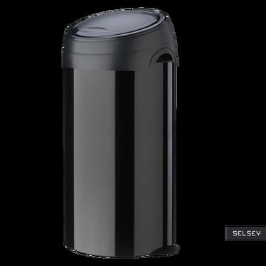 Kosz na śmieci Soft-Touch 60l czarny
