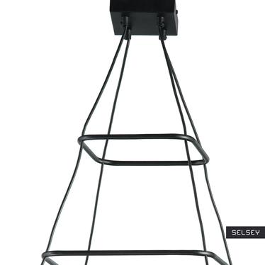 Lampa wiszaca Kaskadru x4 kwadratowa