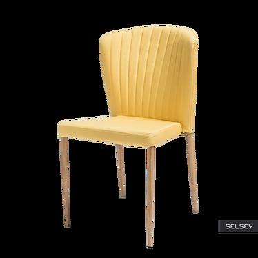 Krzesło Sletten żółte