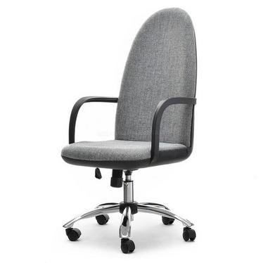 Fotel biurowy Vinci szaro - czarny