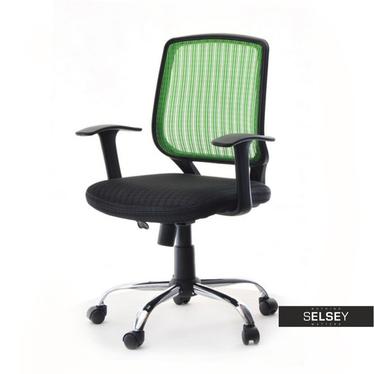 Fotel biurowy Tablo zielony młodzieżowy