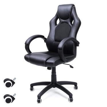 Fotel biurowy Rees czarny