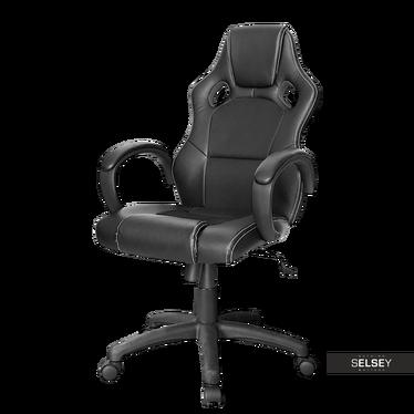Fotel gamingowy Campo czarny