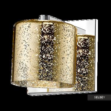 Kinkiet Daniels 12 cm złoty