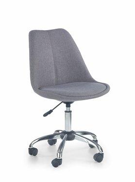 Fotel biurowy Nelas jasny popiel