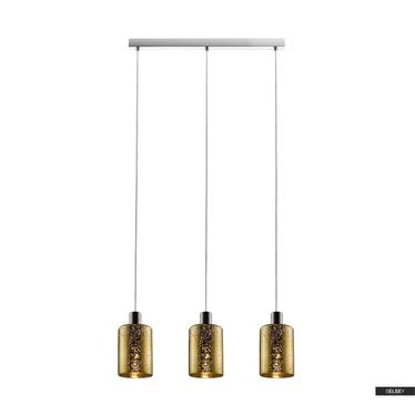 Lampa wisząca Daniels średnica 12 cm złota x3