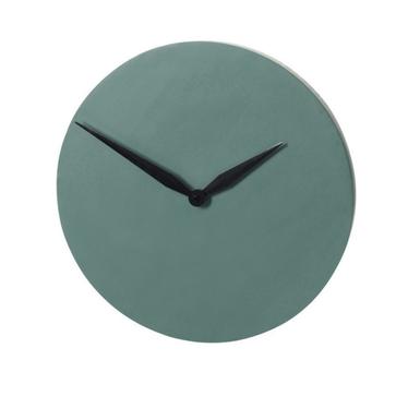 Zegar Modern ciemnozielony