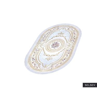 Dywan Ovalium biały 150x233 cm