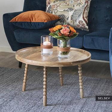 Stolik kawowy Loava o średnicy 60 cm