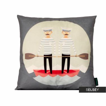Poduszka z poszewką Kids - Marynarz