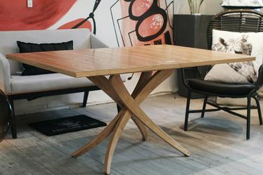 Stół rozkładany Genius 3w1 70-150x100 cm kolor naturalny