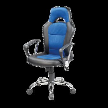 Fotel gamingowy Ronda czarno - niebieski