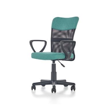 Fotel biurowy Berak turkusowy
