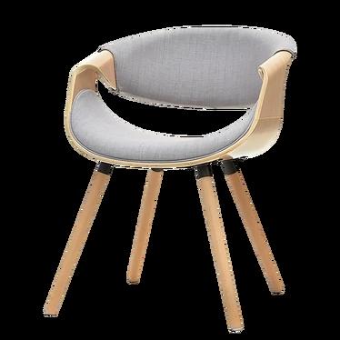 Krzesło Bent dąb - szary