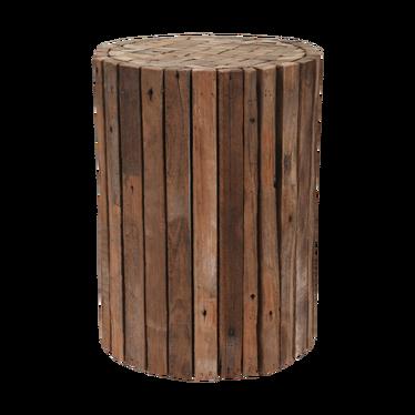 Stołek Wood z drewna tekowego